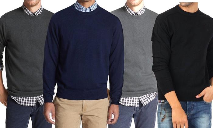 wholesale dealer 339dd e9a8b 2 maglioni uomo misto cashmere | Groupon Goods