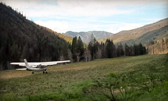 SP Aircraft - Airport: Sawtooth Air Tour and Backcountry Brunch for One or Two at SP Aircraft (Up to 70% Off)