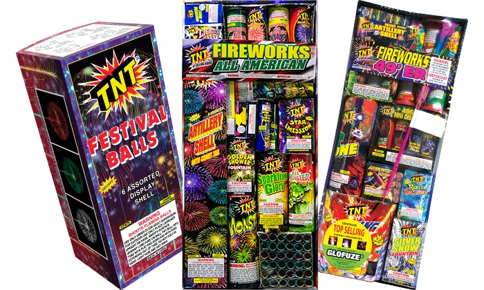 TNT Fireworks - Tulsa: $10 for $20 Worth of Fireworks at TNT Fireworks Stands & Tents