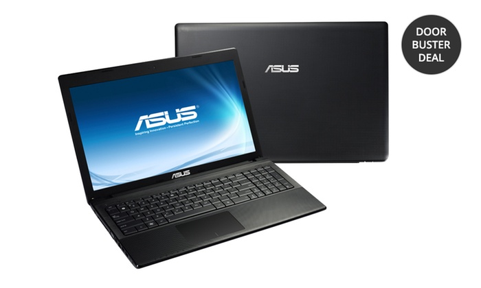 "ASUS 15.6"" Notebook with 2GB RAM: ASUS 15.6"" Notebook with 2GB RAM and Windows 8 (F55A-ES01). Free Returns."
