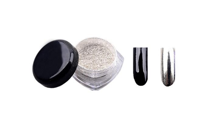 Polvere effetto specchio per unghie groupon goods - Polvere effetto specchio unghie ...