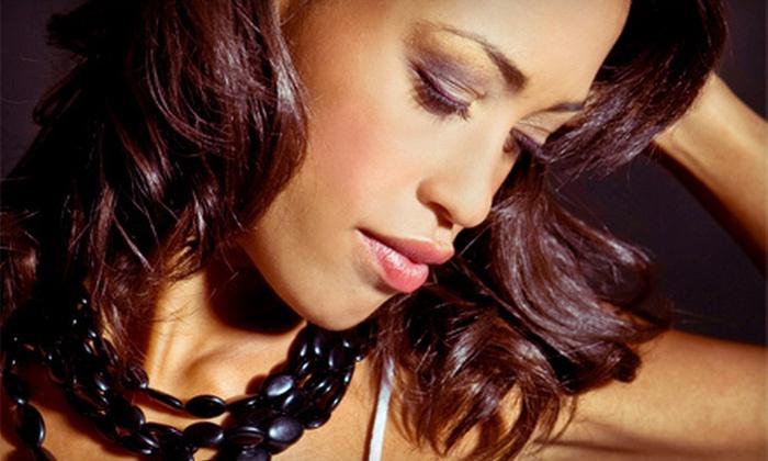 Beyond Braids and Weave Studio - Spring Valley: Hair Trim, Cornrows, Large Box Braids, or Medium Box Braids at Beyond Braids and Weave Studio (Up to 65% Off)
