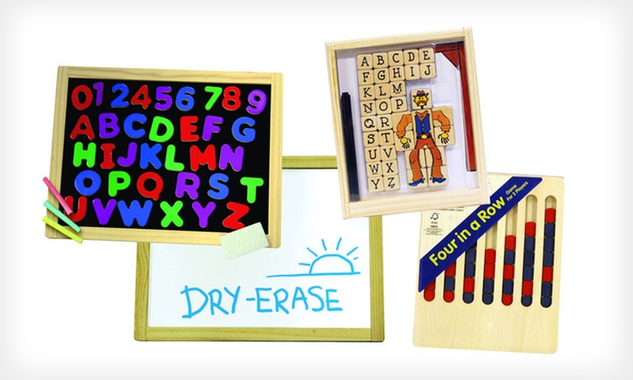 Wooden Activity Bundle: $22 for a Wooden Activity Bundle from Patch Products ($37.97 List Price). Free Shipping.
