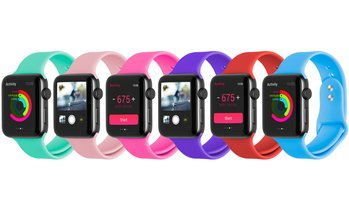 Silicone Sports Band for 38mm/40mm or 42mm/44mm Apple Watch