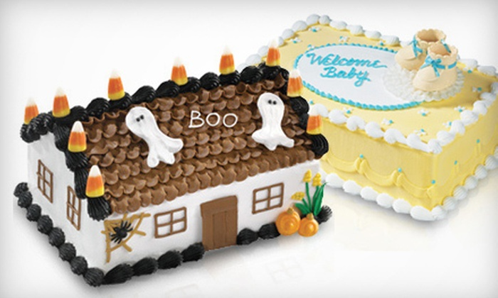 Baskin Robbins - Multiple Locations: $10 for $20 Worth of Ice-Cream Cakes at Baskin Robbins