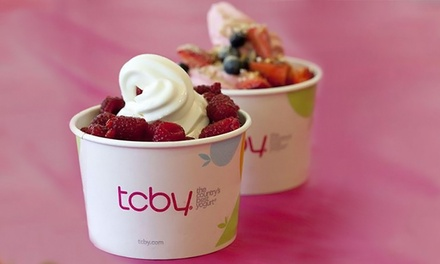 One or Two Groupons, Each Good for $10 Worth of Fro-Yo, Smoothies, Cakes, and Other Treats at TCBY (40% Off)
