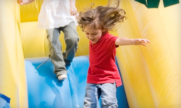 BounceU of Bridgewater - Martinsville: Five Open-Bounce Visits or One Day of Camp at BounceU of Bridgewater (Up to 60% Off)