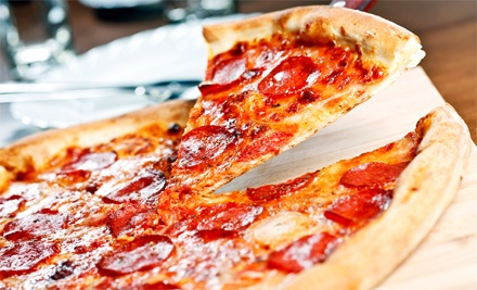 $13 for a Three-Topping 14-Inch Pizza and Two Large Sodas at Atlanta Pizza & Gyro ($20.58 Value)