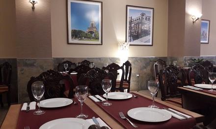 Menú italiano para 2 o 4 personas con entrantes, principales, postres y bebidas desde 24,90 € en Restaurante El Sabor