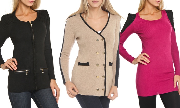 YAL NY Cardigan: YAL NY Cardigans and Sweaters. Multiple Styles Available. Free Returns.