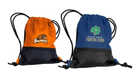2-Pack of NCAA String Backpacks. Multiple Teams Available.