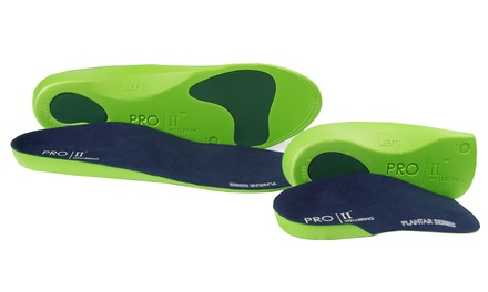 One or Two Pairs of Pro 11 Wellbeing Slim Fit 3/4 or Full Orthotic Insoles