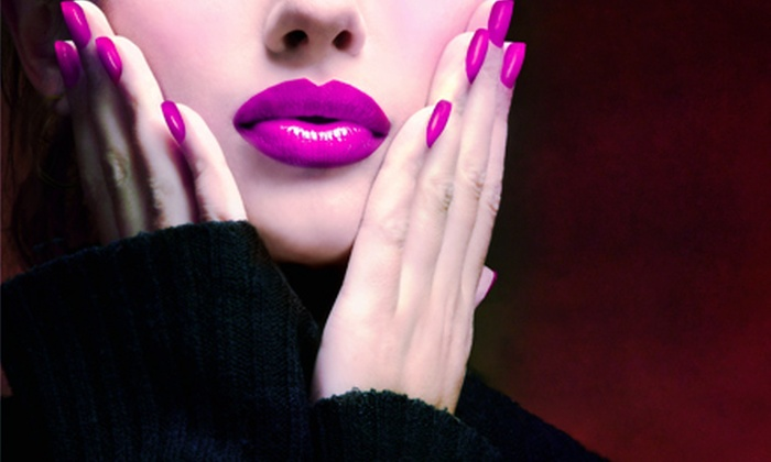 High Maintenance Nails - Phoenix Salon Suites: One or Two Shellac Manicures and Express Pedicures at High Maintenance Nails (Up to 54% Off)