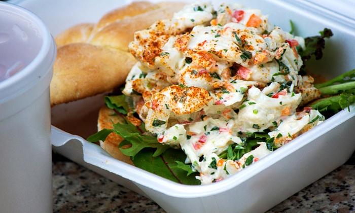 Feelin' Crabby - Capitol Hill: $12 for Two Groupons, Each Good for $10 Worth of Lobster Sandwiches at Feelin' Crabby ($20 Value)
