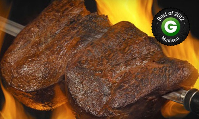 Samba Brazilian Grill - State-Langdon: $25 for $50 Worth of Rodízio-Style Cuisine at Samba Brazilian Grill. Three Options Available.