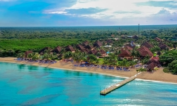 All-Inclusive Allegro Cozumel Vacation with Airfare and Diving from Travel by Jen: 5-Night All-Inclusive Mexico Stay with Airfare. Price/Person Based on Double Occupancy. Includes Taxes and Fees.