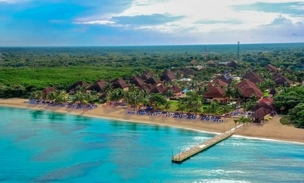 Groupon Deal: 5-Night All-Inclusive Mexico Stay with Airfare. Price/Person Based on Double Occupancy. Includes Taxes and Fees.