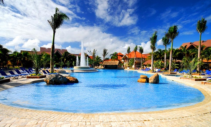All-Inclusive IFA Villas Bavaro Resort & Spa Stay with Airfare - Punta Cana, Dominican Republic: All-Inclusive IFA Villas Bavaro Vacation with Airfare. Price/Person Based on Double Occupancy. Includes Taxes and Fees.