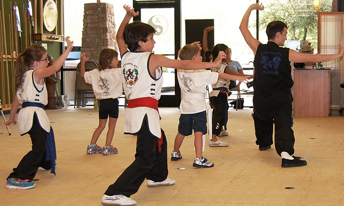 United Kung Fu - Fletcher Heights Plaza: $49 for One Month of Kids' Kung Fu Classes at United Kung Fu ($99 Value)