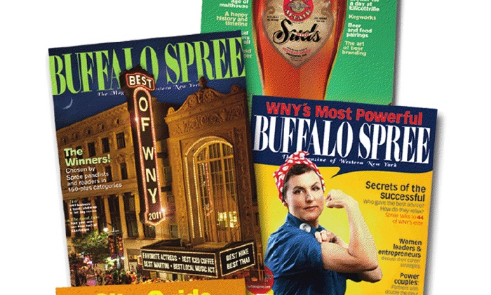 "Buffalo Spree: One- or Two-Year ""Buffalo Spree"" Magazine Subscription (Up to 55% Off)"