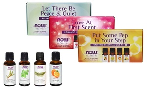 Now Solutions Relaxing Essential Oils Kit (4-Pack)