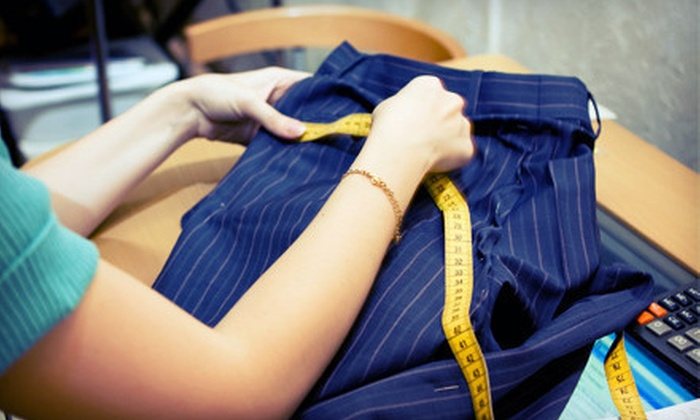 Alterations By Sarah - Multiple Locations: $9 for $20 Worth of Clothing Alterations at Alterations By Sarah