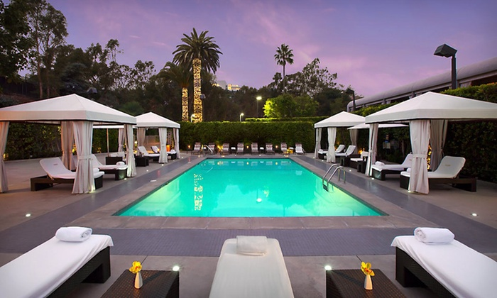 Luxe Hotel Sunset Boulevard - Los Angeles: Stay for Up to Four with $40 Daily Breakfast Credit at Luxe Hotel Sunset Boulevard in Los Angeles, CA