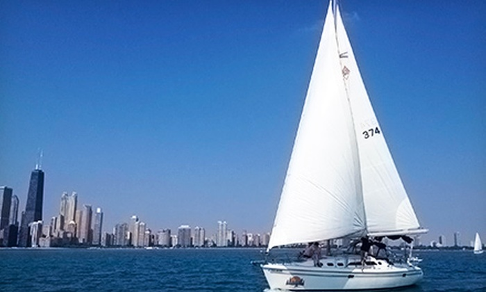 Chicago Sailboat Charters - Chicago: Semiprivate Sail or Season of Sailing for Two from Chicago Sailboat Charters (Up to 62% Off). Three Options Available.