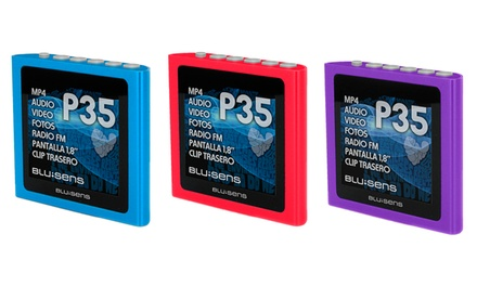 Leitor de MP4 de 8 GB Bluesens por 29,90€