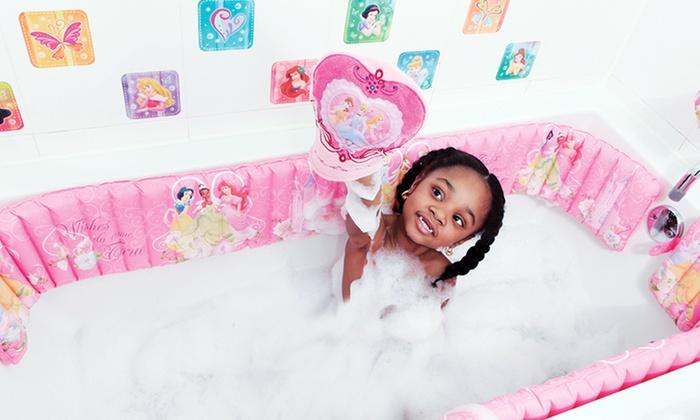 inflatable bathtub bumpers groupon goods. Black Bedroom Furniture Sets. Home Design Ideas