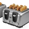 2- or 4-Slice Stainless Steel Toaster