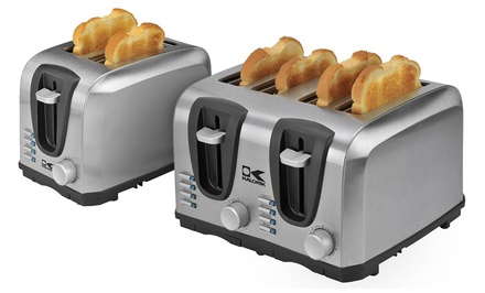 Abilene, TX: 2- or 4-Slice Stainless Steel Toaster from $29.99–$39.99