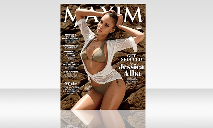 Magzter Inc.: $15 for a Two-Year, 24-Issue Digital Subscription to Maxim ($29.98 Value)