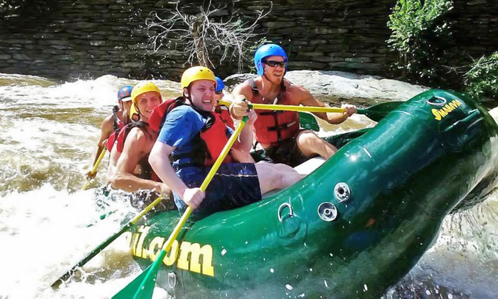 River & Trail Outfitters - Knoxville: Whitewater-Rafting Trip with Wetsuit for One, Two, Four, or Six at River & Trail Outfitters (37% Off)