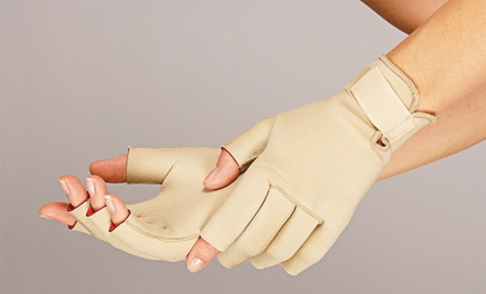 Miracle or Magnetic Therapy Arthritis-Relief Gloves for Men or Women