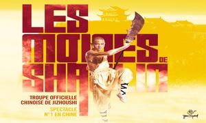 """You Prod: 1 place, catégorie et date au choix pour """"Les Moines Shaolin"""" en tournée dans toute la France dès 19 €"""