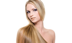 Angie at Old Hollywood Hair: $132 for One Brazilian Blowout from Angie at Old Hollywood Hair ($275 Value)