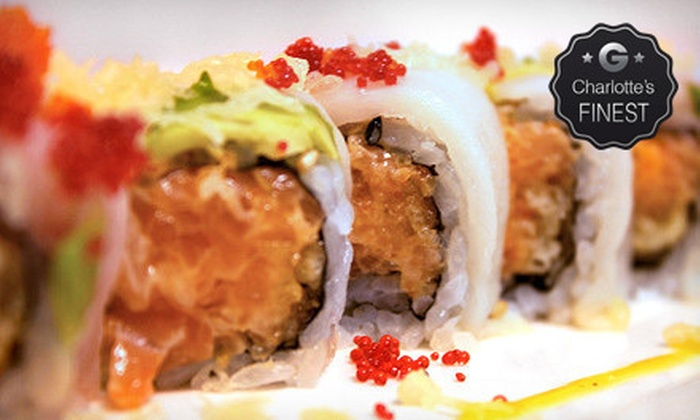 Room 112 - Third Ward: Two-Course Sushi Dinner for Two or Four at Room 112 (Up to 53% Off)