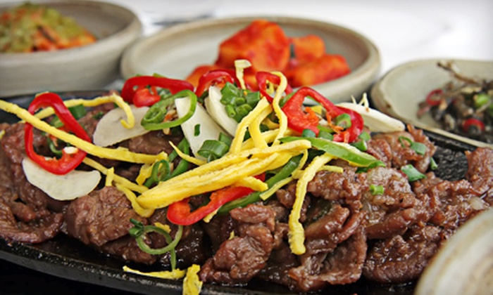 Korea House - Santa Clara: Authentic Korean Dinner for Two or Four at Korea House (Half Off)