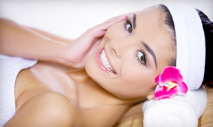 Félicité Day Spa - Robinson Twp: Oxygen- or Peppermint-Facial Packages with Chair Massages at Félicité Day Spa (Up to 63% Off)