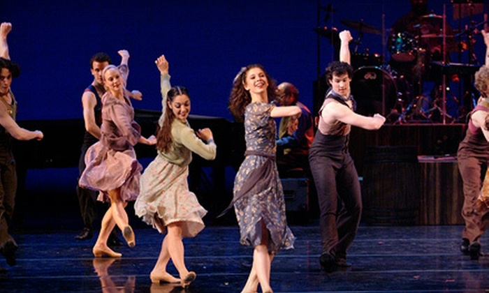 "Carolina Ballet Presents ""Fancy Free"" & ""Carolina Jamboree"" - Duke Energy Center for the Performing Arts Fletcher Opera Theater : Carolina Ballet Presents ""Fancy Free"" & ""Carolina Jamboree"" on April 18–20 (Up to 51% Off). Eight Options Available."