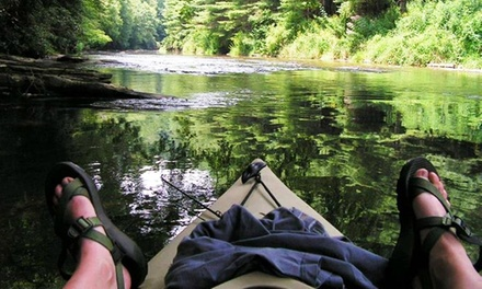 Three-Hour Eco Kayak Tour with Lunch for One, Two, or Five from RiverGirl Fishing Company (Up to 59% Off)