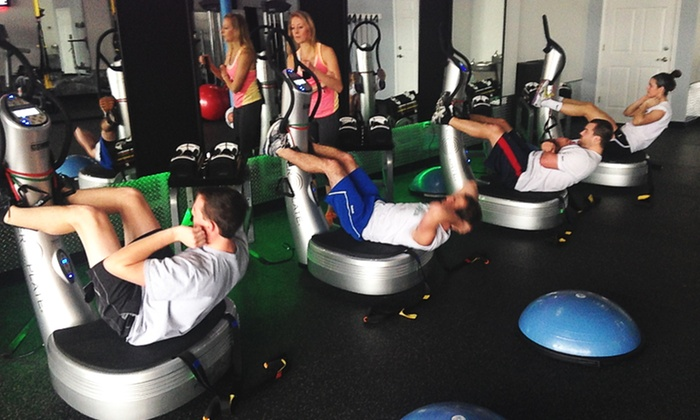 E2 Fitness Studio - Town & Country: 5 Boot-Camp Sessions at E2 Fitness Studio (Up to 61% Off)