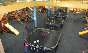 Recreations Outlet: Three or Six Play Visits or a Two-Hour Birthday Party for Up to 15 Kids at Recreations Outlet (Up to 54% Off)