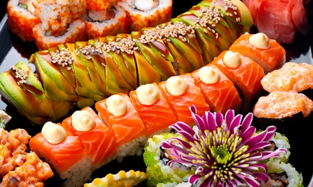 $24 for Comedy Night Admission for Two with Beers and $10 Worth of Sushi at Sushi Hai ($42 Value)