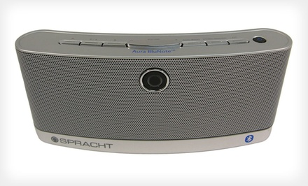 Spracht Aura BluNote Portable Wireless Speaker