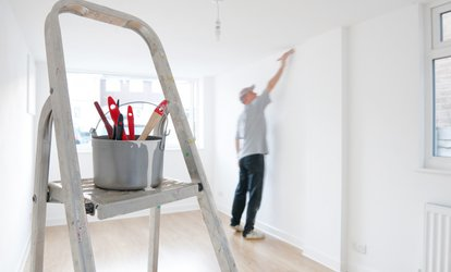 Interior Painting of One or Two Rooms or Exterior Home Painting from K.S. Painting Services (Up to 62% Off)