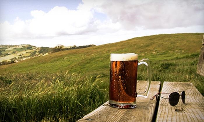 North Bay Brewery Tours - Petaluma: Brewery Bus Tour for Two from North Bay Brewery Tours (Half Off)