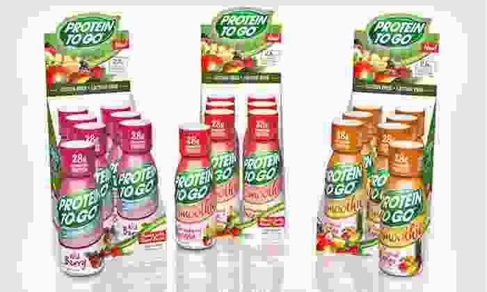 24 Protein Smoothie Shots: $36 for 24 Protein Smoothie Shots ($72 List Price). Three Flavors Available. Free Shipping.