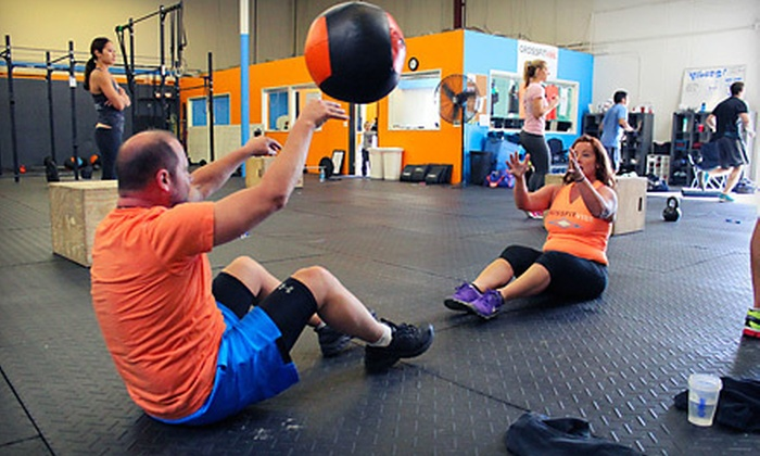 Crossfit Vibe - Costa Mesa: 10 or 20 Morning Boot-Camp Classes at CrossFit Vibe (Up to 77% Off)